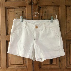 Lilly Pulitzer Callahan Shorts 0 White